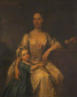 Dame Dorothy Lever with Her Daughter, Martha