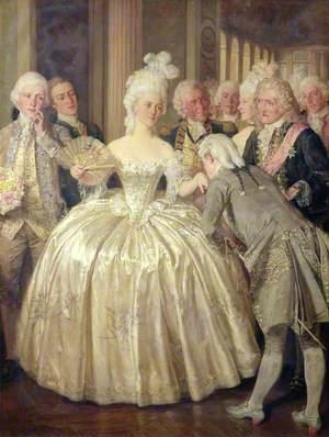 A Court Belle, 1770