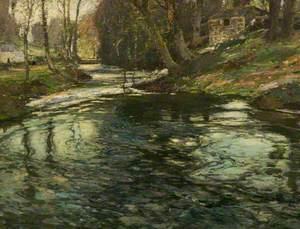 The Stream at Lamorna, Penzance, Cornwall