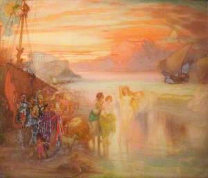 Phryne at Eleusis