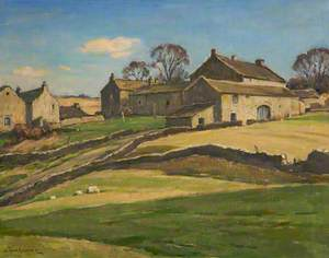 The Village on the Hill, Appletreewick, North Yorkshire