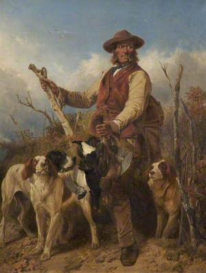 Gamekeeper with Dogs