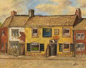 'Old Red Lion Inn', Blackford Bridge, Bury