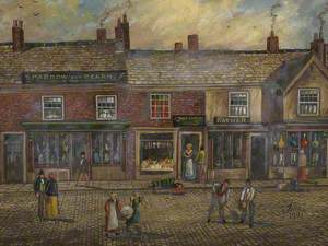 Part of Old Market Place, Bury