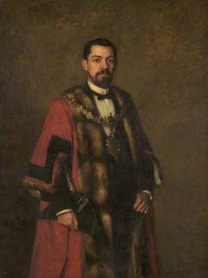 Joseph Burrow, Mayor of Bury (1885–1887)