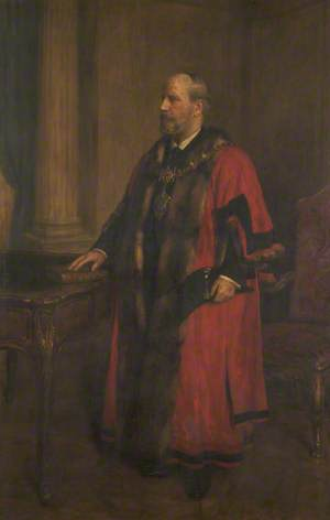 John Hall, Mayor of Bury (1894–1896)