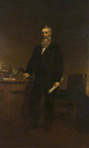 Alderman James Barlow (1821–1887), Mayor of Bolton (1867–1869)