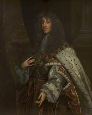 James II (1633–1701), Wearing Garter Robes