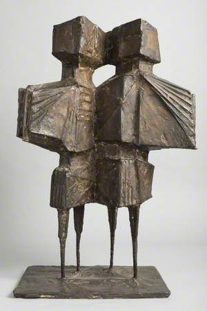 Maquette for 'Winged Figures III'