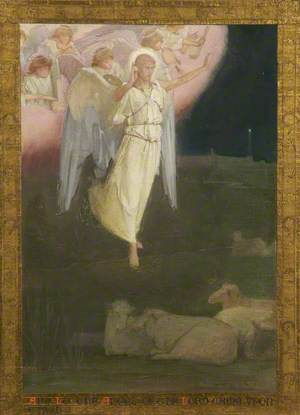 'And lo the Angel of the Lord came upon them'