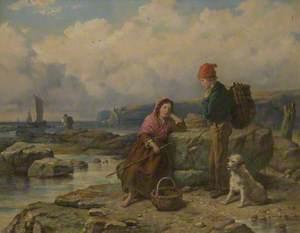 Fisher Folk on the Rocks