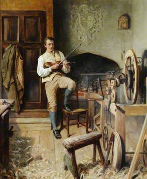 Samuel Crompton Inventing the Spinning Mule