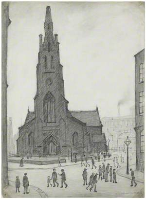 A Street Scene (St Simon's Church)