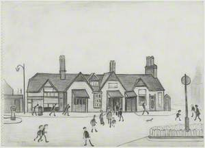 Eccles Railway Station
