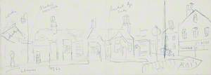 Sketch for Eccles Railway Station