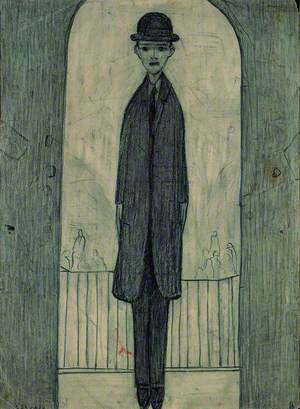Untitled (Man in an Archway)
