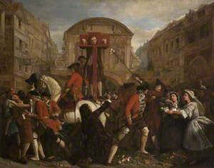 Daniel Defoe in the Pillory