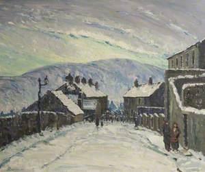 Winter Evening, Derbyshire