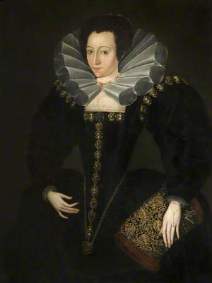 Portrait of a Lady in Court Dress