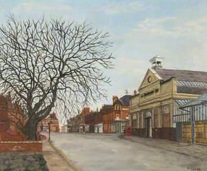Winter Sunshine (Market Street, Altrincham)