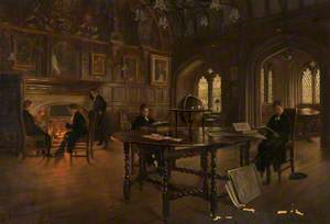 Chetham's Reading Room