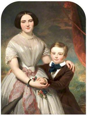 Robert Barnes' Daughter and Son