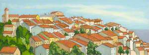 Red-Roofed Village