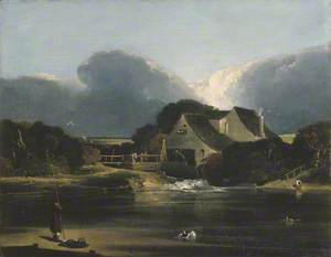 Landscape with Water Mill