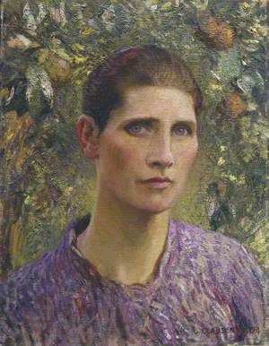 Portrait of a Village Woman