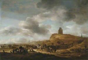 Scene on the Shore at Scheveningen