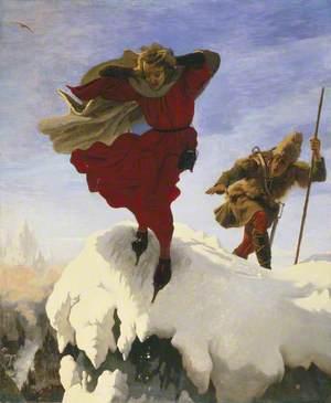 Manfred on the Jungfrau
