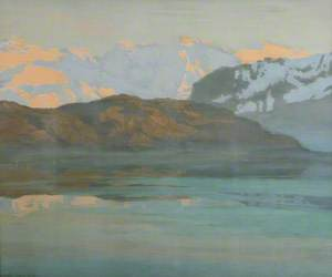 Evening: Lake of Lucerne