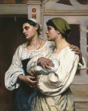 Italian Women in Church