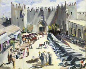 Outside Damascus Gate, Jerusalem