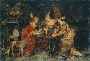 Ladies on a Terrace