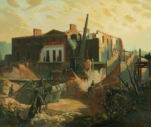 The Demolition of Devonshire House