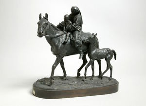 Mother and Child on a Horse