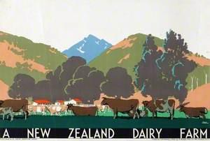 A New Zealand Dairy Farm