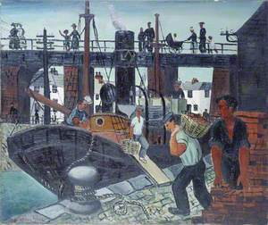 Loading the Boats, St Ives