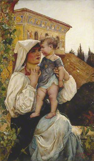 An Italian Mother and Child