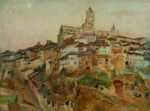 The Town of Siena