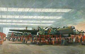 Avro Lancaster Bombers at Woodford