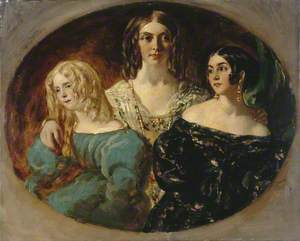 Portrait of Three Women (formerly called 'The Honourable Mrs Caroline Norton and Her Sisters')
