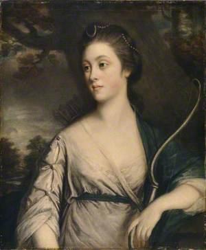 Miss Elizabeth Phelips, Dressed as Diana