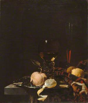 Still Life: Fruit, Goblet and Salver