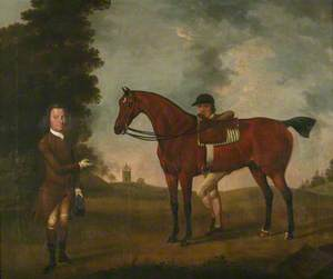 'Driver' with Owner and Groom