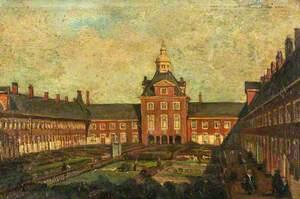 Almshouses at Het Hofje van Nieuwkoop