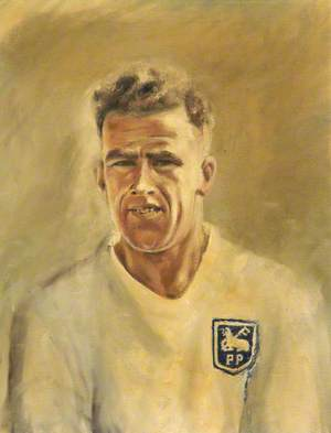 Willie Cunningham in Preston North End Kit