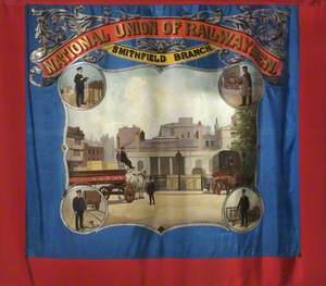 National Union of Railwaymen Smithfield Branch Banner