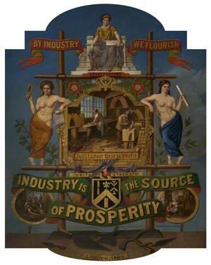 Operative Bricklayers Society Emblem*